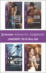 Harlequin Romantic Suspense January 2016 Box Set: Colton Copycat KillerCowboy Under FireJustice HunterGuarding His Royal Bride (The Coltons of Texas) - Marie Ferrarella, Carla Cassidy, Jennifer Morey, C.J. Miller