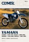 Clymer Yamaha YZ400F 1998-1999, YZ426F 2000-2002, WR400F 1998-2000 & WR426F 2001-2002 - Jay Bogart