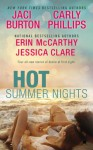 Hot Summer Nights (Bluebonnet, #2.5) (Serendipity, #3.5) - Jaci Burton, Erin McCarthy, Carly Phillips, Jessica Clare
