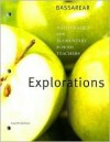 Bassarear, Math For Elementary School Teachers Exploration Manual Fourth Edition - Tom Bassarear
