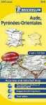Michelin Map France: Aude, Pyrnes-Orientales 344 - Michelin Travel Publications