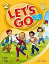 Let's Go 2 Student Book with CD: Language Level: Beginning to High Intermediate. Interest Level: Grades K-6. Approx. Reading Level: K-4 - Ritsuko Nakata, Karen Frazier, Barbara Hoskins