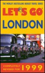 Let's Go London 1999 - Let's Go Inc.