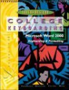 College Keyboarding, Microsoft Word 2000, Lessons 1-60: Text/Data Disk Package - Susie H. VanHuss, Connie M. Forde