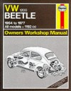 Volkswagen Beetle 1200 1954 77 Owner's Workshop Manual (Service & Repair Manuals) - John Harold Haynes