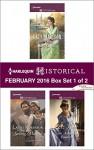 Harlequin Historical February 2016 - Box Set 1 of 2: Want Ad WifeSaving MarinaThe Notorious Countess (Wild West Weddings) - Katy Madison, Lauri Robinson, Liz Tyner