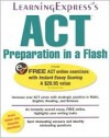 ACT Preparation in a Flash - Learning Express LLC