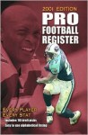 Pro Football Register, 2001 Edition - David Walton