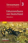 Stresemann - Exkursionsfauna Von Deutschland. Band 3: Wirbeltiere - Konrad Senglaub, Bernhard Klausnitzer, H. -J Hannemann