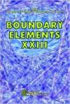 Boundary Elements XXIII (Advances in Boundary Elements, Vol. 10) - C.A. Brebbia