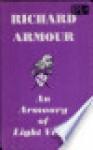 Armoury of Light Verse - Richard Armour
