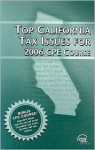 Top California Tax Issues for 2006 CPE Course - CCH Editorial Staff Publication