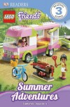 DK Readers: LEGO Friends: Summer Adventures - Catherine Saunders