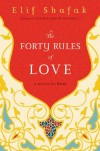 The Forty Rules of Love: A Novel of Rumi - Elif Shafak