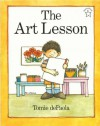 The Art Lesson (Paperstar Book) - Tomie dePaola