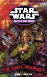 Star Wars Njo Final Prophecy (Star Wars New Jedi Order) - Greg Keyes