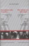 Powiedzieć sobie wszystko... Eseje o sąsiedztwie polsko-niemieckim. Wir mussen uns alles sagen... Essays zur deutsch-polnischen Nachbarschaft - Jan Józef Lipski, Georg Ziegler