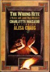 The Wrong Rite - Alisa Craig