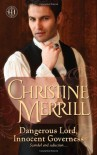 Dangerous Lord, Innocent Governess - Christine Merrill