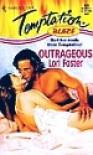 Outrageous  (Blaze) (Harlequin Temptation) - Lori Foster