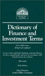 Dictionary of Finance and Investment Terms (Barron's Financial Guides) - John Downes;Jordan Elliot Goodman