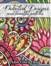 Detailed Designs and Beautiful Patterns (Sacred Mandala Designs and Patterns Coloring Books for Adults) (Volume 28) - Lilt Kids Coloring Books