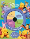 Disney Winnie the Pooh CD Storybook: The Many Adventure of Winnie the Pooh / Piglet's Big Movie / Pooh's Heffalump Movie / The Tigger Movie - A.A. Milne, Walt Disney Company, Eugene H. Shephard