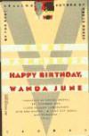 Happy Birthday, Wanda June: A Play in Three Acts - Kurt Vonnegut