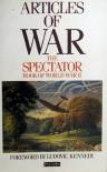 Articles of War The Spectator Book of World War II - Fiona  Glass,  Philip Marsden-Smedley