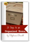 25 Days to an Organized Home Challenge: Revolutionize Your Life and Gain More Time - Adam Brandt