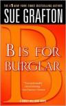 B Is for Burglar (Kinsey Millhone Series #2) -