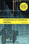 Handbook of Technical Writing - 'Gerald J. Alred',  'Charles T. Brusaw',  'Walter E. Oliu'