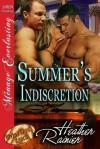 Summer's Indiscretion (Divine Creek Ranch, #7) - Heather Rainier