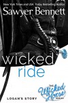 Wicked Ride (The Wicked Horse Series Book 4) - Sawyer Bennett