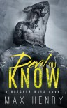 Devil You Know - Max  Henry