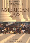 The Oxford Companion to American Law (Oxford Companions) - Kermit L. Hall, David S. Clark