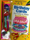Birthday Cards for Girls to Make/Book and Decorating Kit (American Girl Library (Paperback)) - Nan Brooks