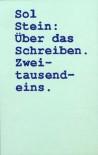 Über das Schreiben - Sol Stein, Waltraud Götting