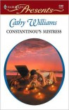 Constantinou's Mistress - Cathy Williams