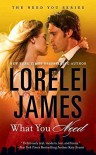 [(What You Need : The Need You Series)] [By (author) Lorelei James] published on (January, 2016) - Lorelei James