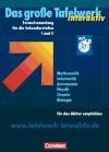 Das Große Tafelwerk Interaktiv. Allgemeine Ausgabe. Mit Cd Rom - Rüdiger Erbrecht, Hubert König, Matthias Felsch, Wolfgang Kricke, Karlheinz Martin, Wolfgang Pfeil, Rolf Winter, Willi Wörstenfeld