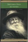 Specimen Days - Walt Whitman