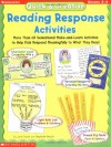 Quick & Creative Reading Response Activities (Grades 2-4) - Jane Fowler;Stephanie Newlon;Newlon Stephanie