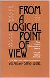 From a Logical Point of View: Nine Logico-Philosophical Essays - Willard Van Orman Quine