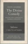 Divine Comedy, Inferno 2 Vol. Set: Text and Commentary - Dante Alighieri