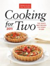 America's Test Kitchen Cooking for Two 2011: The Year's Best Recipes Cut Down to Size - The Editors at America's Test Kitchen