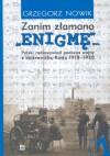 """""""Zanim złamano Enigmę""""""""-Polski radiowywiad podczas wojny 1920"""""""""""" - Grzegorz Nowik"""