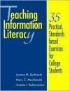 Teaching Info Literacy - Joanna M. Burkhardt