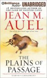 The Plains Of Passage (Earth's Children® Series) - Jean M. Auel, Sandra Burr