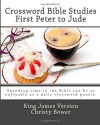 Crossword Bible Studies - First Peter to Jude: King James Version - Christy Bower